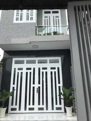 Cần bán gấp căn nhà 1 trệt 1 lầu mới xây ở Lê Minh Nhựt