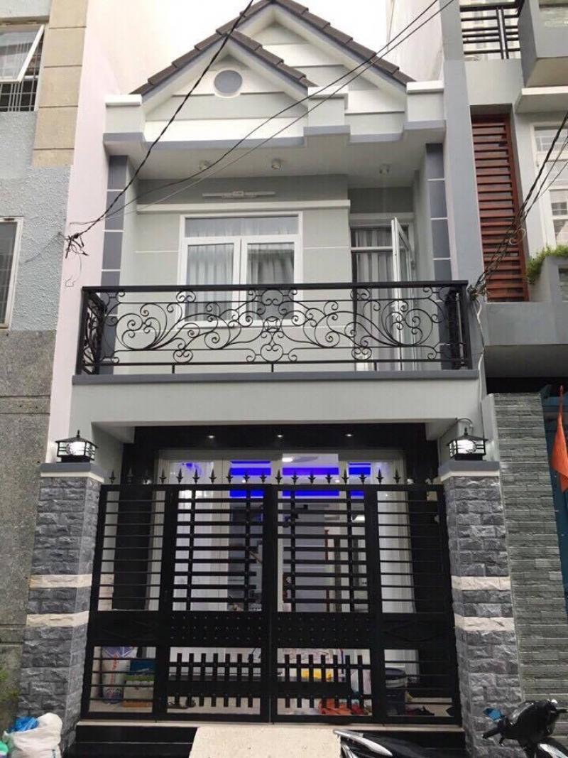 Nhà mới xây 140m2,đường 14m,sổ hồng riêng,bao sang tên