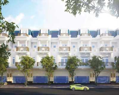 Cần bán căn nhà mặt tiền đường Đại lộ Hải Sơn 40m, xã Đức Hòa Hạ, Huyện Đức Hòa, Long An.
