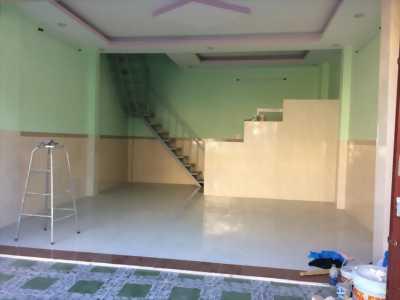 Cần tiền bán gấp căn nhà1 trệt 1 lầu  Đông Thạnh , Hóc Môn , 1 tỷ 8  , SHR ,0979.924.633