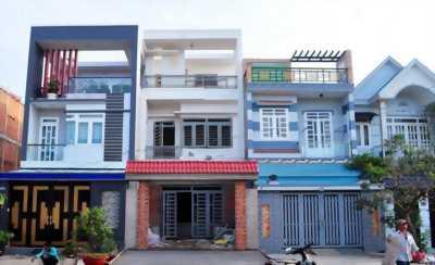 Nhà MT 204m2 đường Thanh Niên tại XTS8 Hóc Môn, SHR, 2.5 TỶ