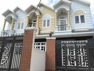 Cần bán nhà 1 trệt 1 lầu gần cầu Ông Thìn Bình Chánh