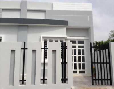 Nhà mới xây 100%, shr, 5x15m, chính chủ