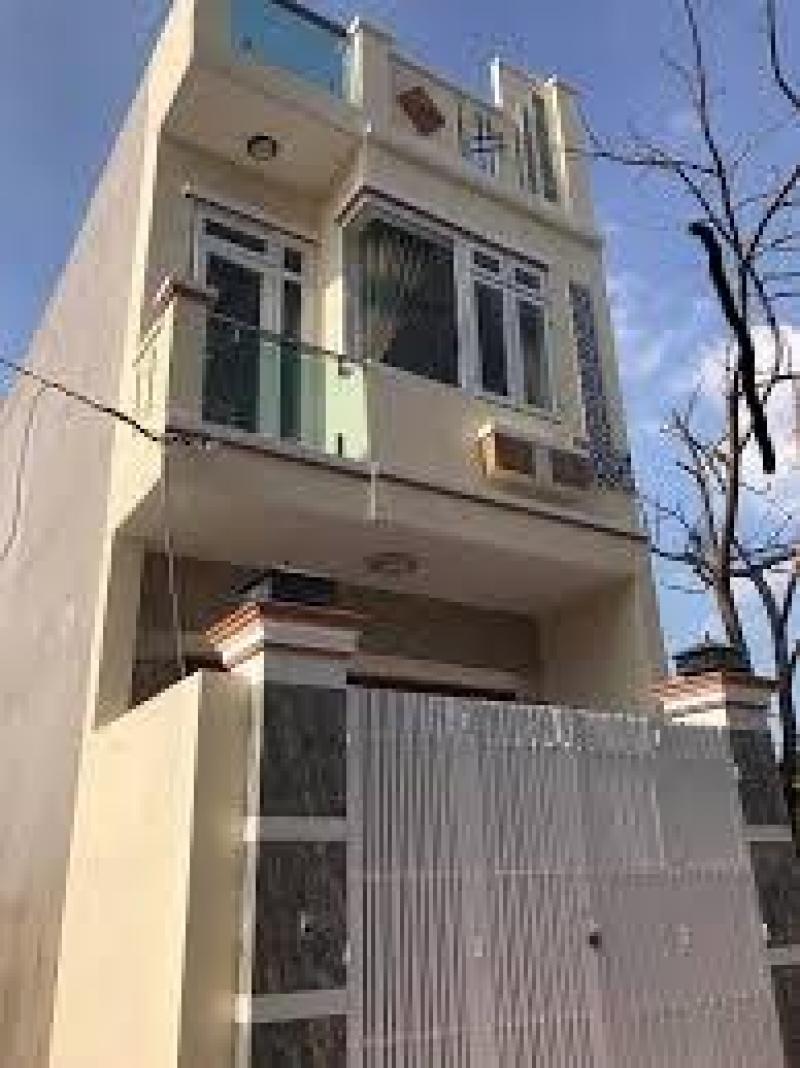 Nhà 1 lầu đúc với diện tích 75 m2, đường Đặng Công Bĩnh.