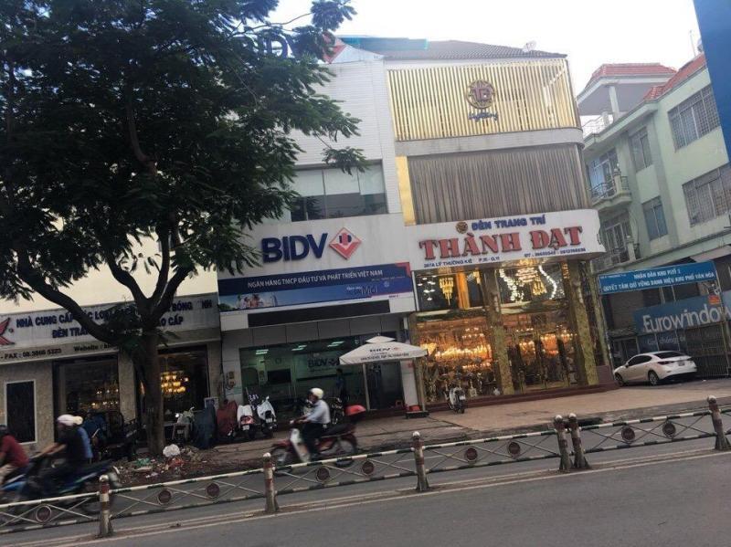 Bán căn nhà mặt tiền Lý Thường Kiệt, q10, khu ngân hàng.