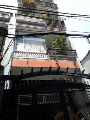 Nhà đẹp Trần Hưng Đạo, phường Cầu Kho Quận 1,HXH, 5 tầng