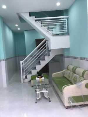 Nhà ở 1 lầu 2pn đúc thật đường An Phú Đông 25 chùa khánh an
