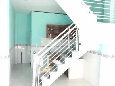 Nhà ở 1 lầu 2pn đường thạnh xuân 25 sổ hồng chung