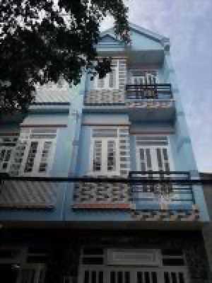 Nhà 3,3x10m, xây 2 lầu mới, đường tân thới hiệp