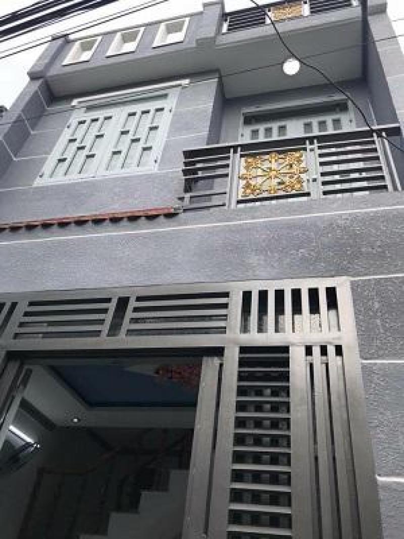 Nhà đúc 1 lầu 4,2 x 6m đường HT17 giá 1tỷ520tr, TPHCM