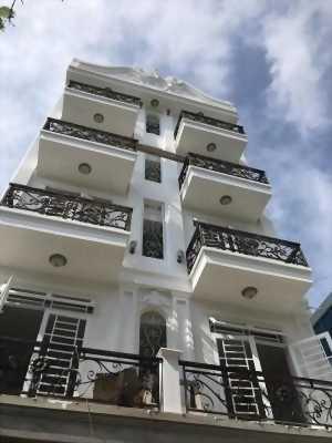 Khách sạn đúc 5 lầu 7,9 x 24m giá 18 tỷ 500 triệu mặt tiền Trần Thị Cờ.