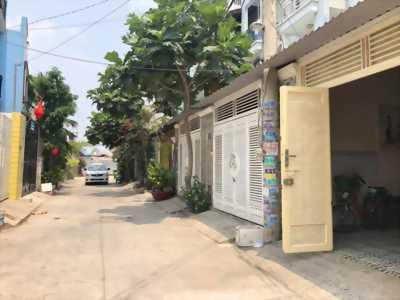 Bán nhà 1 sẹt Hà Huy Giáp 1 trệt 2 lầu có sân ô tô giá 4 tỷ 450 triệu/ căn