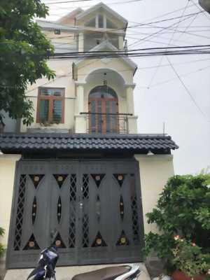 Bán nhà 1 trệt 2 lầu gần ngay uy ban Thạnh Xuân diện tích 5x16m sân  ô tô
