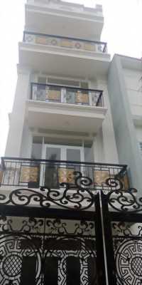 Bán nhà 1 triệt 2 lầu 1 sân thượng mới An Phú Đông , Quận 12