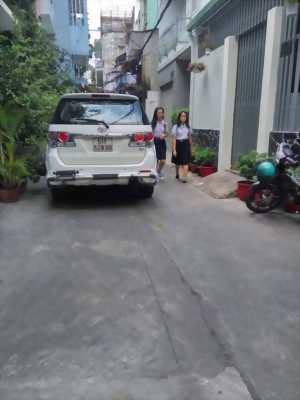Nhà xe hơi đỗ cửa Phan Văn Trị, Q5, 55m2, nở hậu, giá 5,5 tỷ