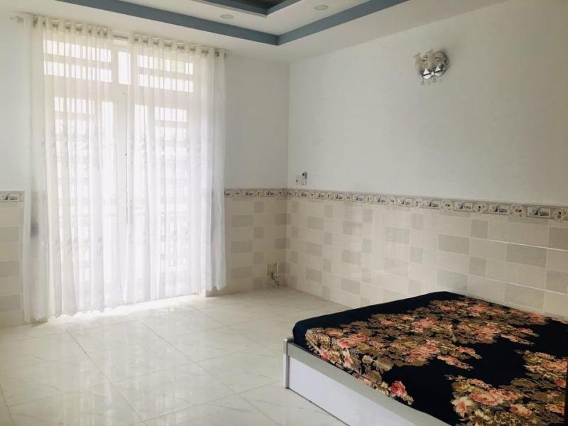 Nhà mới xây 7.5m x 15.5m, trệt, 2 lầu, 1 sân thượng, 6 phòng, 7wc Đường Số 1, Phú Thuận, Q7