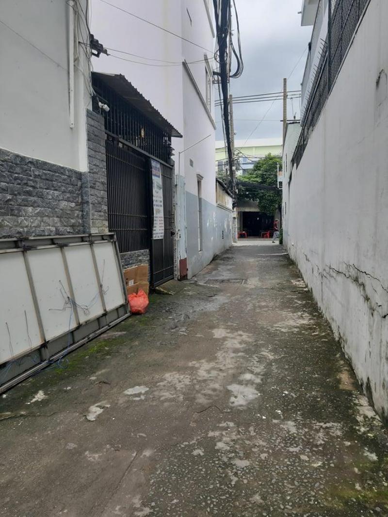 Cho thuê nhà trống suốt 60m2, trệt + gác (hẻm) Bùi Văn Ba, Q7