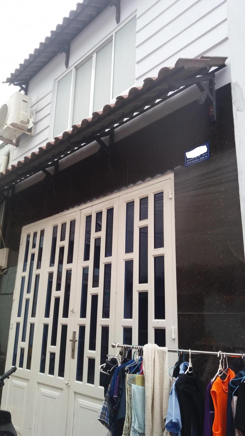 Bán nhà mới có gác lửng đường Lê Đình Cẩn, dt:4x16.5m.