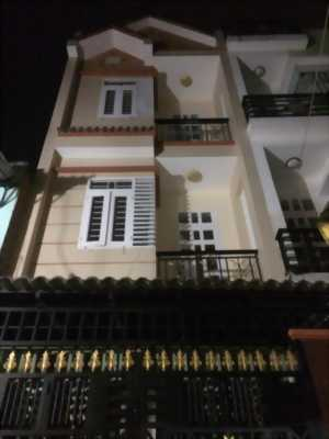 Nhà 3 tấm + s.thượng, 1 sẹc Hương Lộ 2, Bình Tân