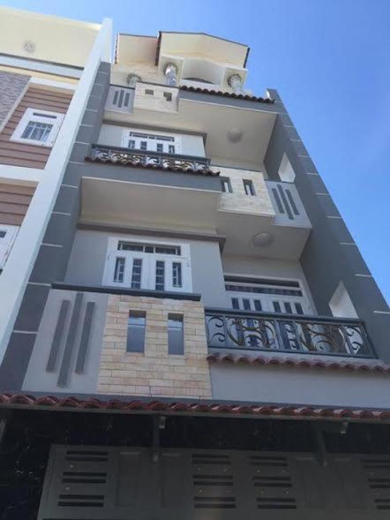 Nhà 1 sẹc Hương Lộ 2, 4 x12m, nhà 3 tấm 4 PN