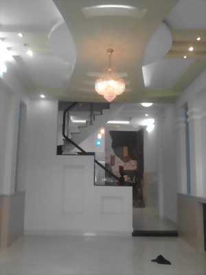 Nhà mới đẹp, đường Mã Lò, 1 trệt 1 lầu, dt: 4x15m