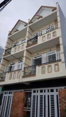 Nhà mới đường Hương Lộ 2, 3x9m, 1 trệt 1 lầu, Bình Tân