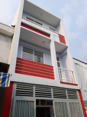 Bán nhà mới, dt:4x17m hẻm thông 6m tại Bình Tân