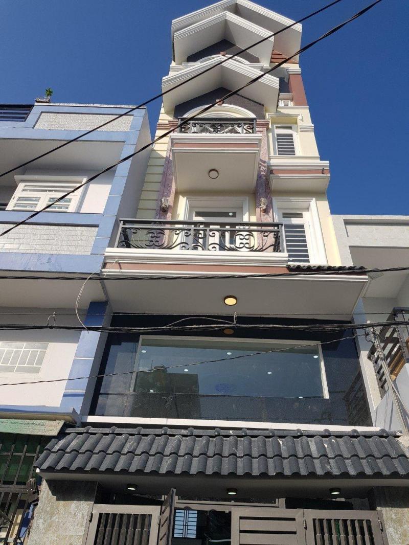 Cần bán nhà trong khu nhà phố cao tầng, 3 tấm, 4x17m, 1/ Đất Mới.