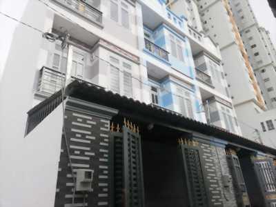 Nhà hẻm 111 Lê Đình Cẩn, 4x7m, nhà 3PN, 3.5 tấm, hẻm vào 6m.