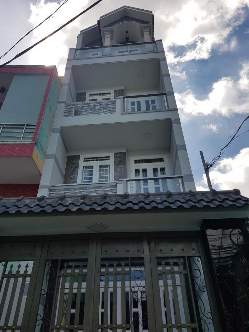 Bán nhà 4 tấm 60m2 3.85 tỷ 122/66 Đất Mới- B.Tân