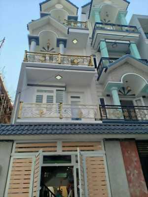 Bán nhà mới 3,5 tấm 4x17m 366/17C Lê Văn Quới ngay Bốn Xã