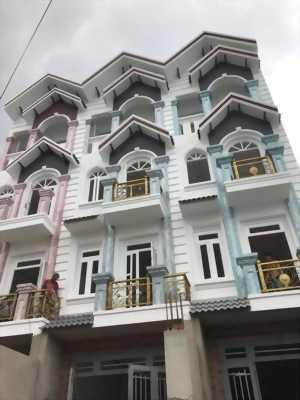 Bán nhà 4 tấm 4x20m 5 p.ngủ xây kiên cố 822 Hương Lộ 2