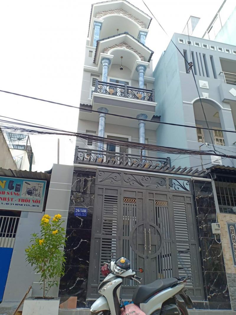 Bán nhà 4 tấm 26/18B đường số 1 giáp Tân Phú ngay Bình Long