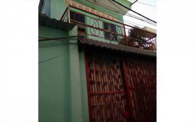 Nhà bán Quận Bình Thạnh (4 x 22) ( gần cầu Điên Biên Phủ)