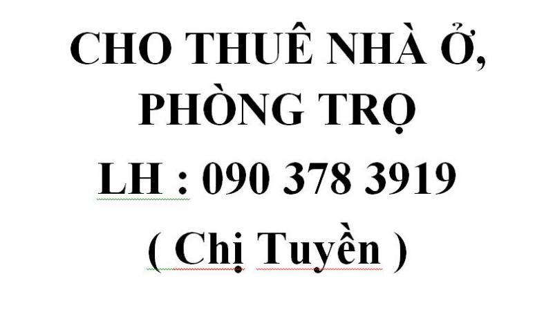 Cho thuê nhà nguyên căn mở cửa hàng đường Bình Lợi quận Bình Thạnh