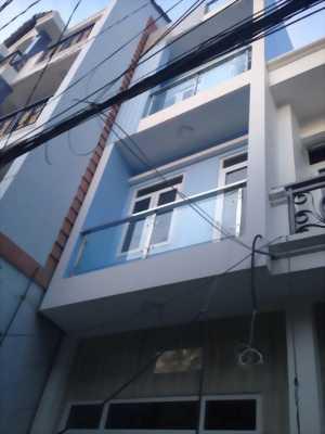 Nhà mới xây hẻm 20 đường số 8 gần Lê Văn Thọ