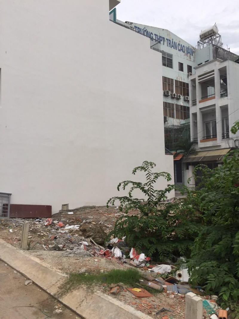 Bán lô đất 527 Phan Văn Trị, P.5, Gò Vấp, giá: 3.87 tỷ