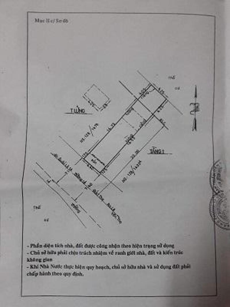 Nhà bán 4,4 x 20,5m mặt tiền đường Lê Đức Thọ