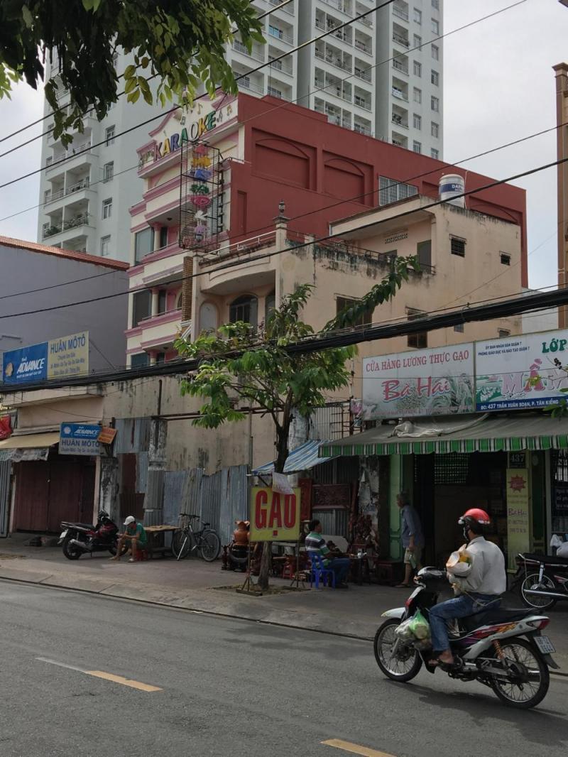 Cho thuê nhà 3 tầng làm văn phòng khu Vạn Phúc, Hà Đông, giá rẻ