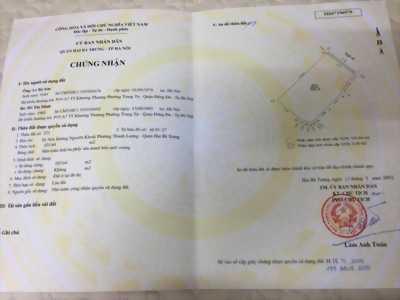 Bán đất chính chủ số 262 Nguyễn Khoái, Hai Bà Trưng, Hà Nội