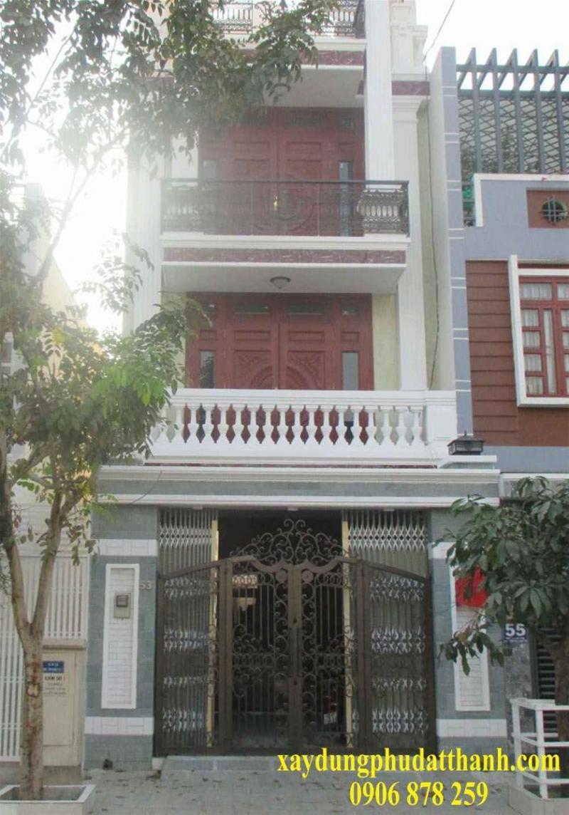 Cho thuê nhà 1 trệt , 3 lầu , vị trí đẹp thuận tiện kinh doanh đường mậu thân