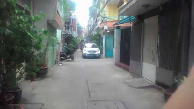 Bán nhà hẻm xe hơi CMT8, P5, Tân Bình