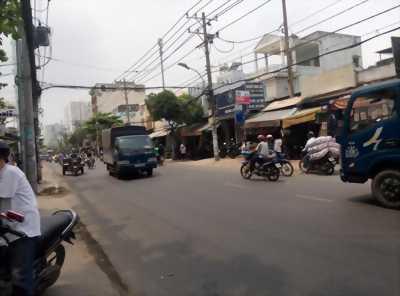 Bán nhà mặt tiền Âu Cơ, P Tân Thành, Q Tân Phú, 4x27m
