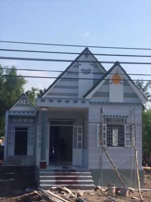 Nhà cấp 4 mới xây dựng