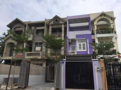 Bán nhà phố khu đô thị mới gần chợ Bình Triệu 1 trệt 2 lầu