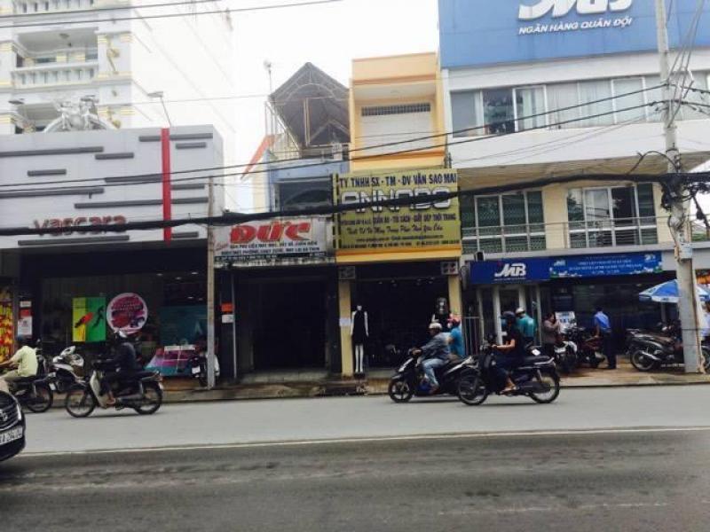 Cho thuê nhà mặt tiền ngang gần 4m đường Võ Văn Ngân