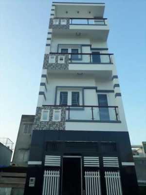 Bán nhà quận THủ Đức mới xây 3 lầu kiên cố sổ riêng