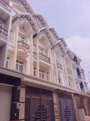 Bán nhà phố 4 lầu mặt tiền đường QL13, sổ hồng riêng