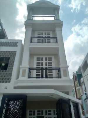 Bán căn nhà 3 lầu ngay ql13-Thủ Đức SHR DT 4.5x14m