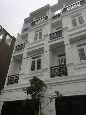 Bán nhà phố 4 tầng HXH , DTSD 175m2, SHR đường Hoàng Diệu 2.